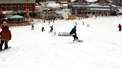 MINI Snowpark Feldberg: MINI & Bohny VIP Snowboard Pro Coaching mit Dominik Wagner - 21.03.2015