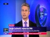 Sergiu Lucinschi, fiul fostului președinte al Republicii Moldova, Petru Lucinschi, reținut de DNA. Este acuzat de trafic de influenţă şi şantaj - ar fi cerut 4 milioane de euro pentru a nu face publică o informație