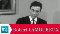 """Robert Lamoureux """"Comment réussir un poisson d'avril ?"""" - Archive INA"""