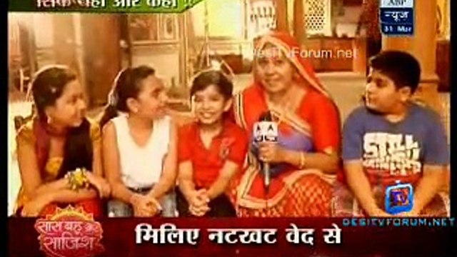 Saas Bahu Aur Saazish SBS [ABP News] 31st March 2015 Video pt1