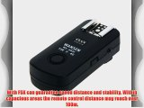 Docooler 2.4Ghz 16 Channels Wireless Flash Trigger Synchronized Shutter Release Remote Control