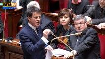"""Valls à Jacob: """"Je vais vous rassurer, je reste et je continuerai"""""""