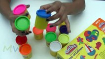 Play Doh Case of Colours Flower ,  How to Make a Colours Flowers and Kids Colours Flowers