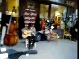 Jazz manouche sous les arcades