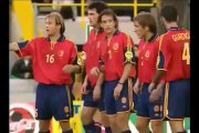 Zinédine Zidane 15ème but | France vs Espagne (2-1) | 1/4 finale Euro 2000