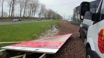 Beelden van stormschades in Groningen - RTV Noord