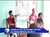 Pescadores ticos son detenidos en Panamá