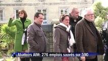 Abattoirs AIM: 276 emplois sauvés sur 590