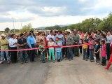 Entregan Obra del Camino Entronque carretero San Felipe-Dolores- La Quemada en San Felipe Gto.