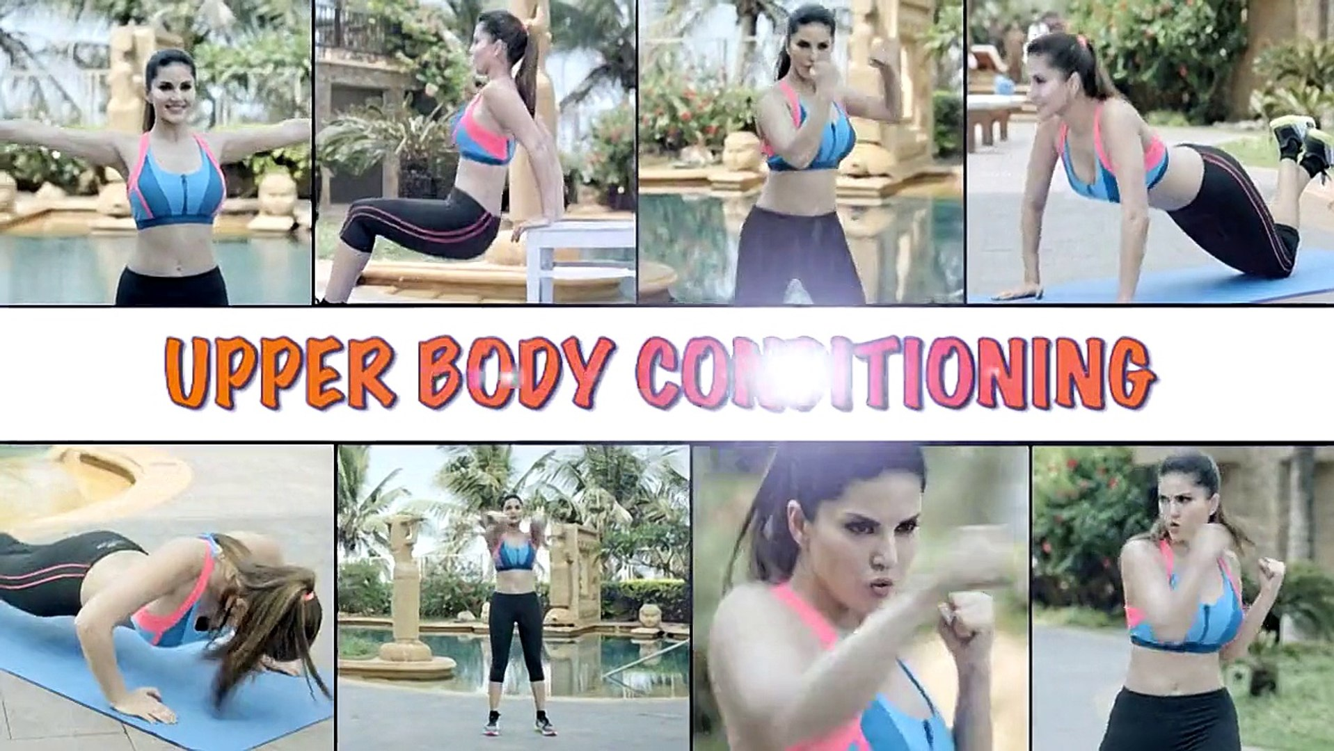 Sunny Leone Super Hot Sunny Morning Daily Workout 2015 HD