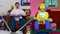 Recréer une scène des Simpsons en vrai : ce fan se prend pour Homer