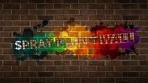 Spray Paint Wall - Digital Graffiti Wall