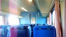 Traveling with the finnish regional train, H442, Vaasa- Seinäjoki, Finland.