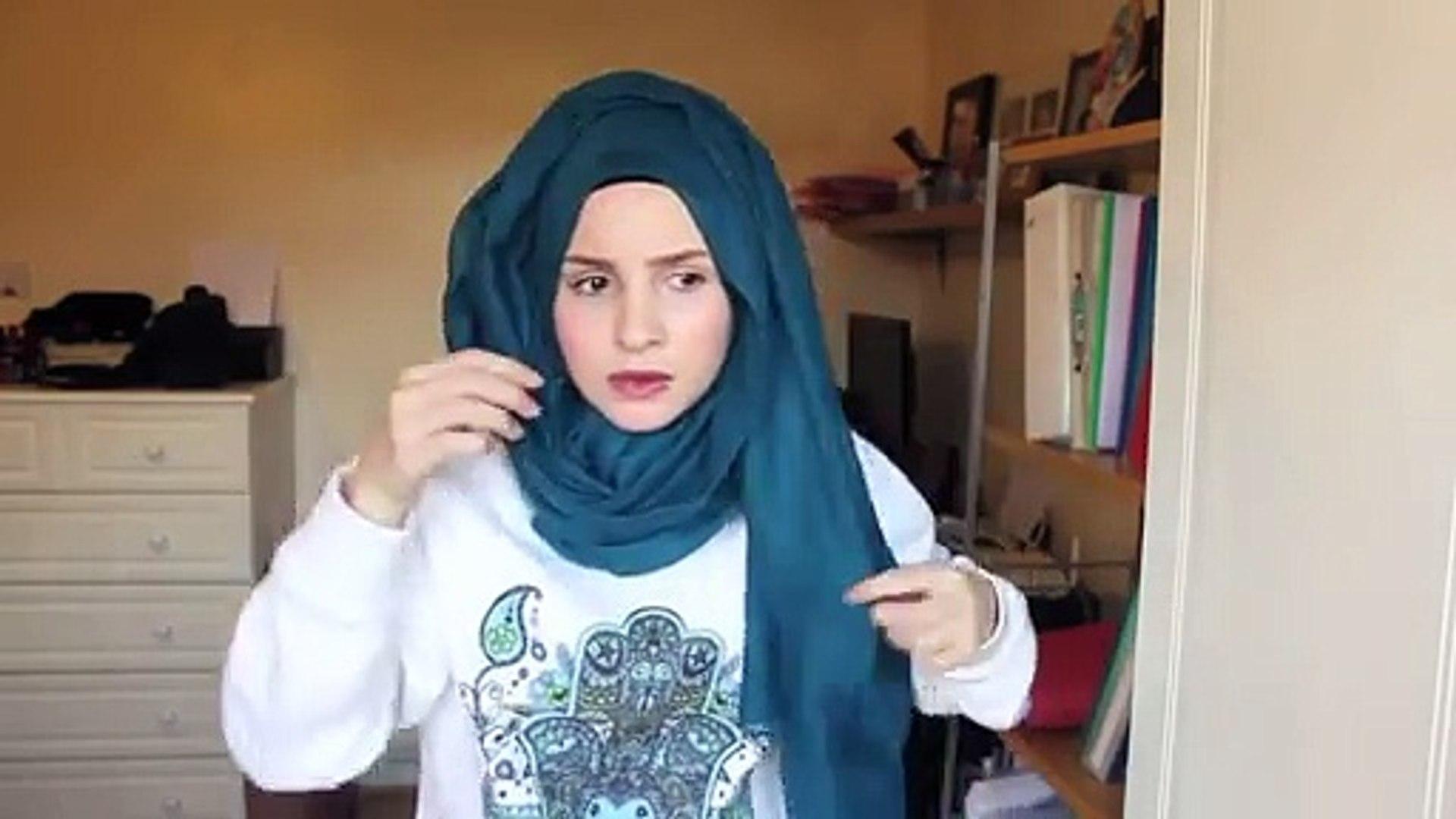 How To Take Hijab Simple Hijab Tutorial Dailymotion Video Dailymotion