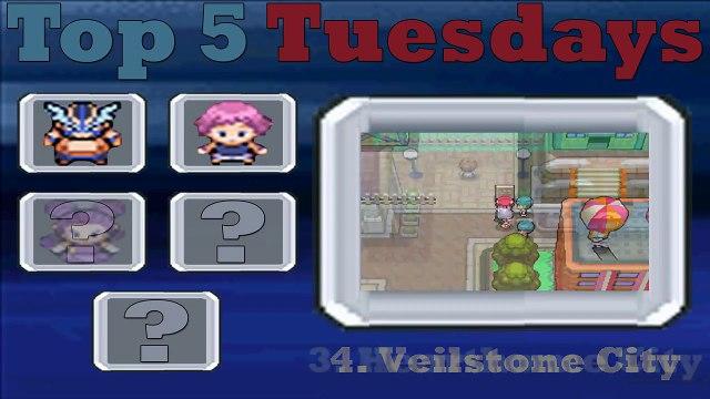 Top 5 Tuesdays - #42 My Top 5 Pokemon Diamond & Pearl City Themes!