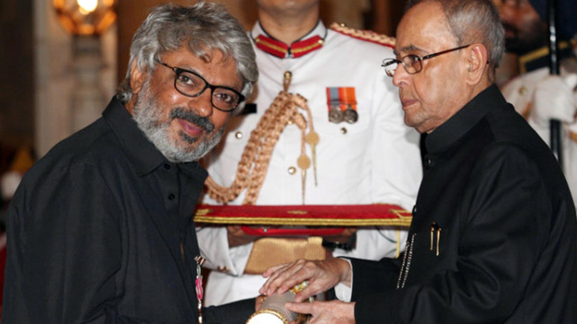 Sanjay Leela Bhansali Receives PADMASHRI AWARD - video Dailymotion