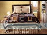 Autumn Kaleidoscope Bedding by Victorian Heart