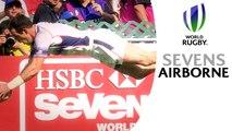 OLYMPIC dive celebrations at Hong Kong 7s!