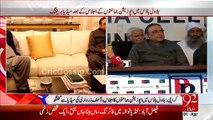 Karachi - Asif Ali Zardari and Opposition Leaders Media Talk 1st April 2015