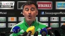 Football / Les Verts réagissent aux propos de Zlatan Ibrahimovic - 01/04