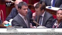 Manuel Valls : «Monsieur Jacob, ne vous énervez pas, ça n'est pas bon pour votre santé»