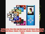 Goldenseller Blue Slim 8gb Mp3mp4 Zf08 Music Video Media Player with Videos Music Pictures Ebooks Voice Recording More