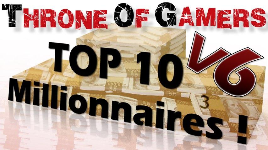 TOP 10 Gamers Millionnaires : Toujours pas de français en vue