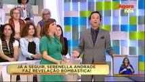 Mentira no Agora Nós: Serenella Andrade grávida aos 52 anos