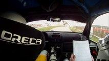 Rallye Epernay - ES 1 Epernay Mardeuil - Pierre-Alexandre et Margaux Perrin - Clio Ragnotti FN3
