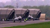 RAF Typhoon jet fighters intercept Russian 'Bears' aircraft-1280x720