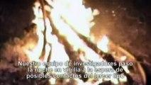 Ovni y Alien real grabado por la noche - Real Alien and UFO at night