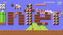 Mario Maker - Super Mario Bros. fête ses 30 ans en vidéo