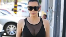 Check Out: Kim Kardashian's Another Display Of Skintight Outfit