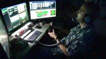 Test du canon laser de l'US Navy