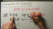 Intermediate Algebra - Intersections of Intervals - Example 3