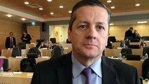 Reaction de Bruno Belin à son élection à la présidence du conseil départementalvélin