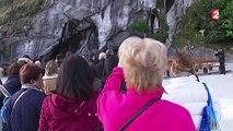 A Lourdes, la grotte de Massabielle reprend vie