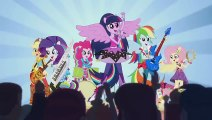 MLP- Equestria Girls - Rainbow Rocks - Cortos Animados [ Corto 4 ] ¡A Bailar!
