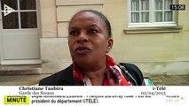 Taubira : le recul de la gauche «n'a rien à voir avec le Premier ministre»
