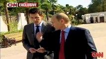 Putin Speaks English for CNN