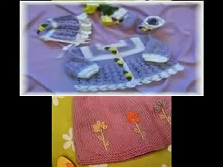 Bebekler Ve Örgü Kıyafetleri