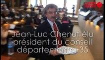 Jean-Luc Chenut élu président du conseil départemental d'Ille-et-Vilaine