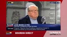 """Jean-Marie Le Pen attribue le """"prix du connard"""" au maire UMP de Nîmes... - Zapping du 2/04"""