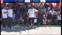 Mondial de Millau 2014 : huitième doublette Cortes vs Pawlowski