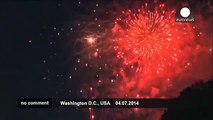 4th of July Fireworks in Washington DC and New York City - no comment
