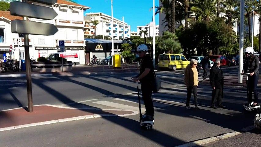 Cannes, gyropode sur la Côte d'azur