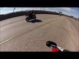 Voici à Quoi Ressemble un Accident de Moto à plus de 200km/h