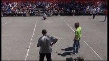 Mondial de Millau 2014 : quart du doublette CORTES vs LE BOURGEOIS