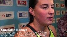 """FFN - Charlotte Bonnet: """"Contente de m'imposer malgré les conditions"""""""