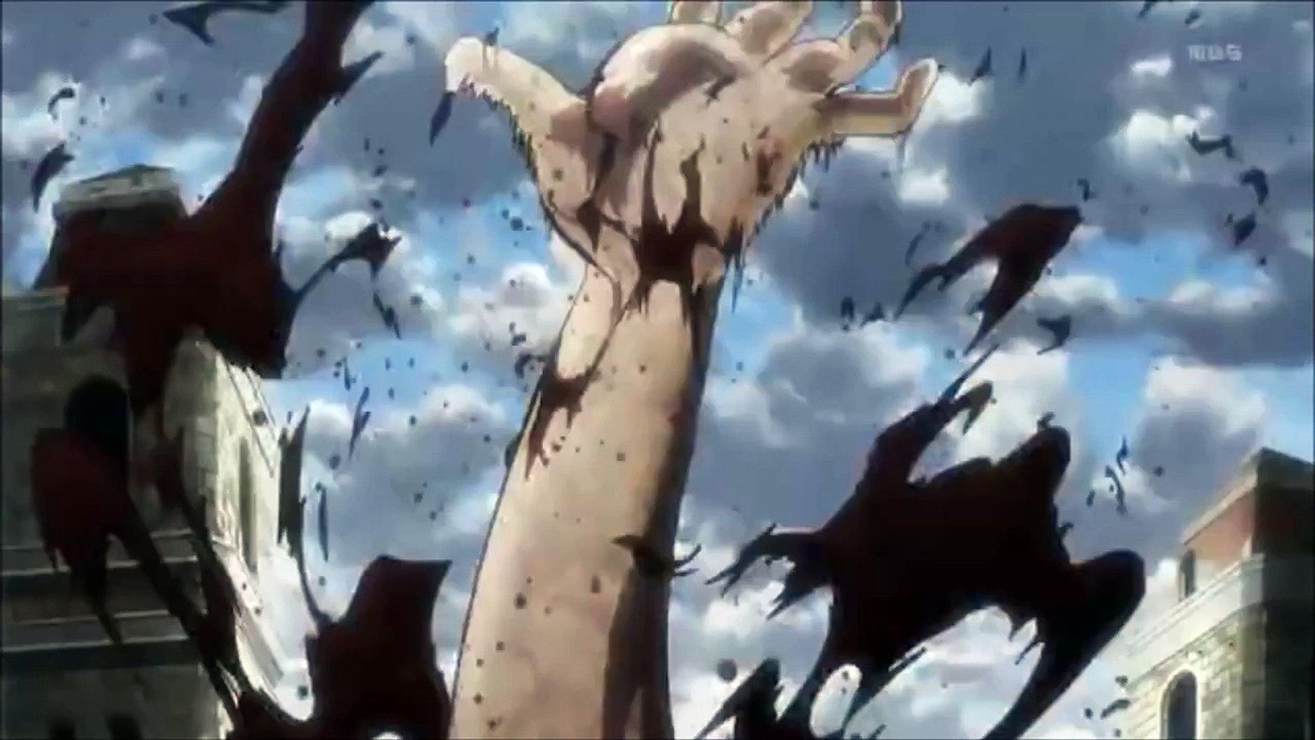 Shingeki No Kyojin Eren S First Transformation Video Dailymotion